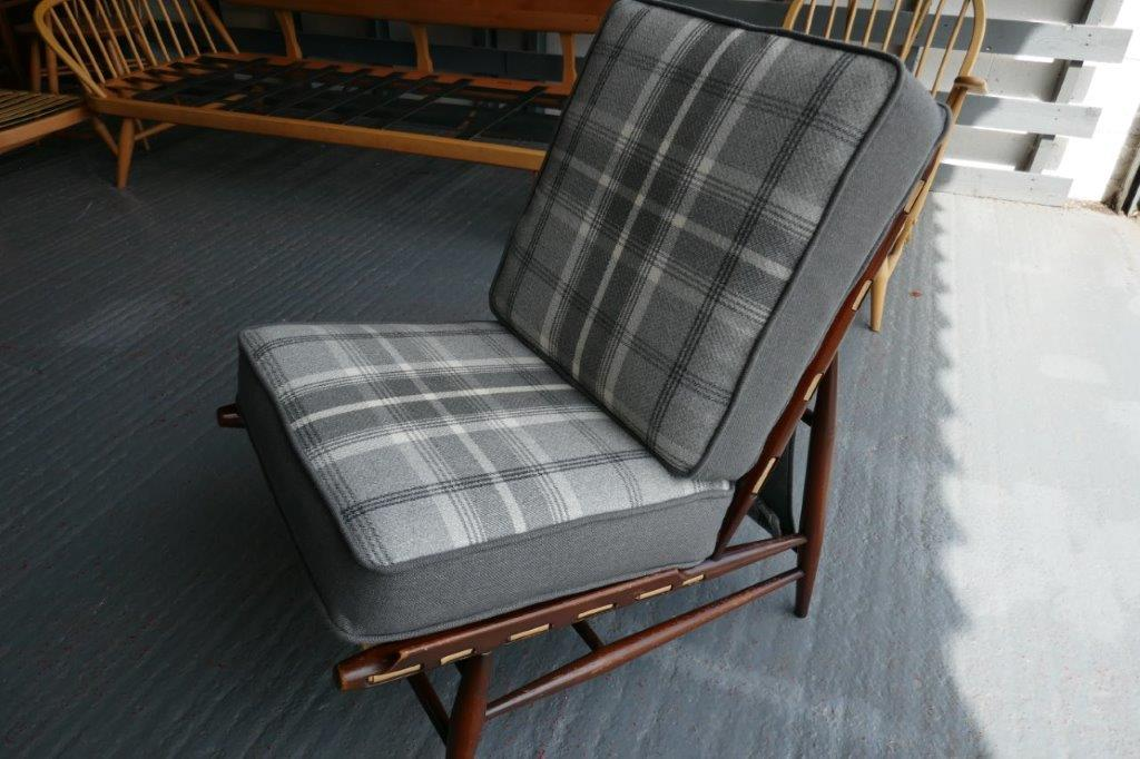 Ercol 427 Seat and Back Cushions Porter & Stone Dove Grey