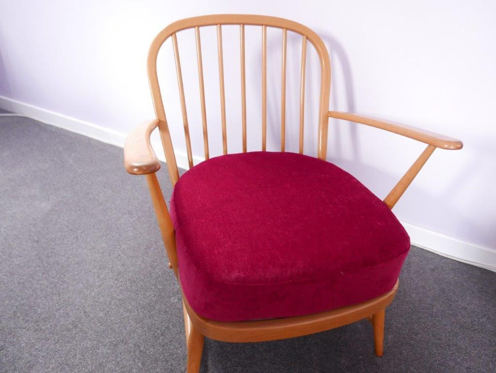 Ercol 334 Seat  Cushion Cardinal Wine