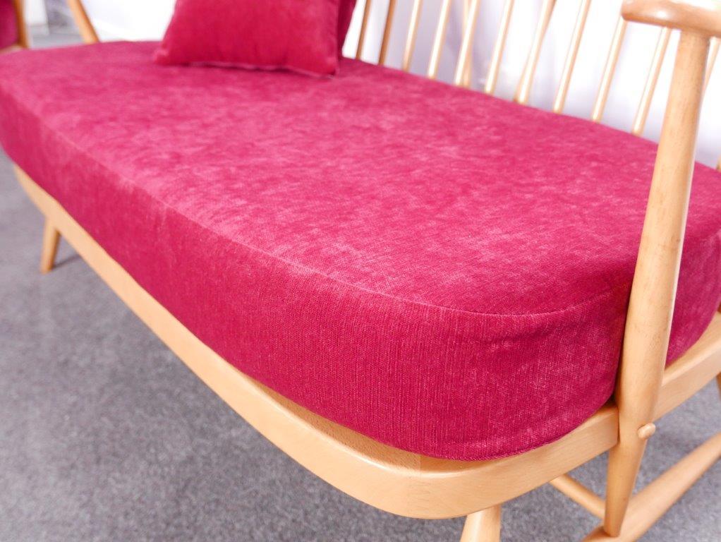 Ercol 334 Seat Amp Back Cushions Cardinal Wine