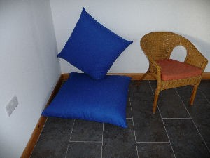Zip Floor Pillow safefoam | replacement foam cushion suppliers footstools body