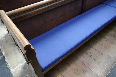 Church Pews Cushions 2009